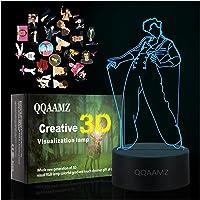3d Led Nachtlampje Harry Styles Lamp Cadeau Voor Fans Slaapkamer Decor Licht Led Touch Sensor Kleur Veranderende…
