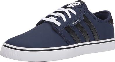 adidas skateboard uomini seeley marina / nero / bianco
