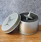 Simplefirst accurate spinning top Inception totem in lega di zinco argento vintage giocattolo il perfetto equilibrio tra prestazioni e bellezza per il regalo