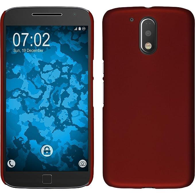 PhoneNatic Funda Rígida Compatible con Motorola Moto G4 Plus ...