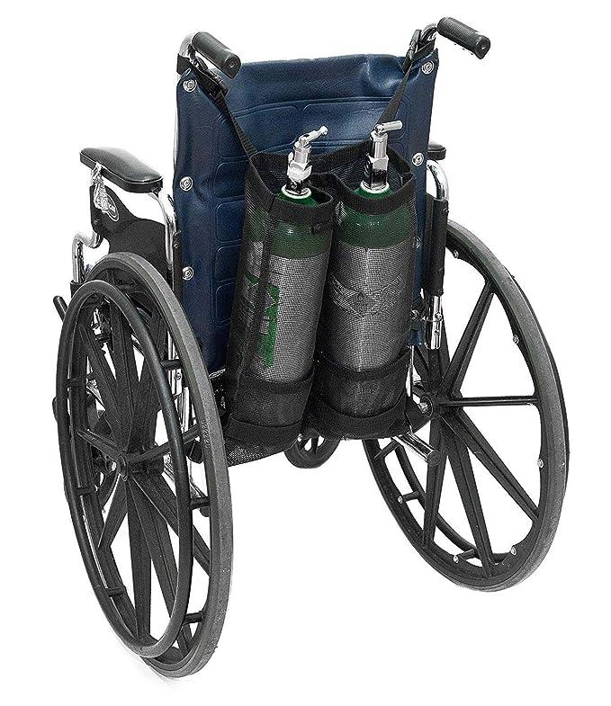 LJXiioo Bolsas de Cilindro de oxígeno Dual para sillas de ...