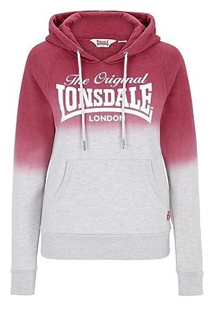 Lonsdale - Sudadera con Capucha - para Mujer Marl Ecru XX-Small: Amazon.es: Ropa y accesorios