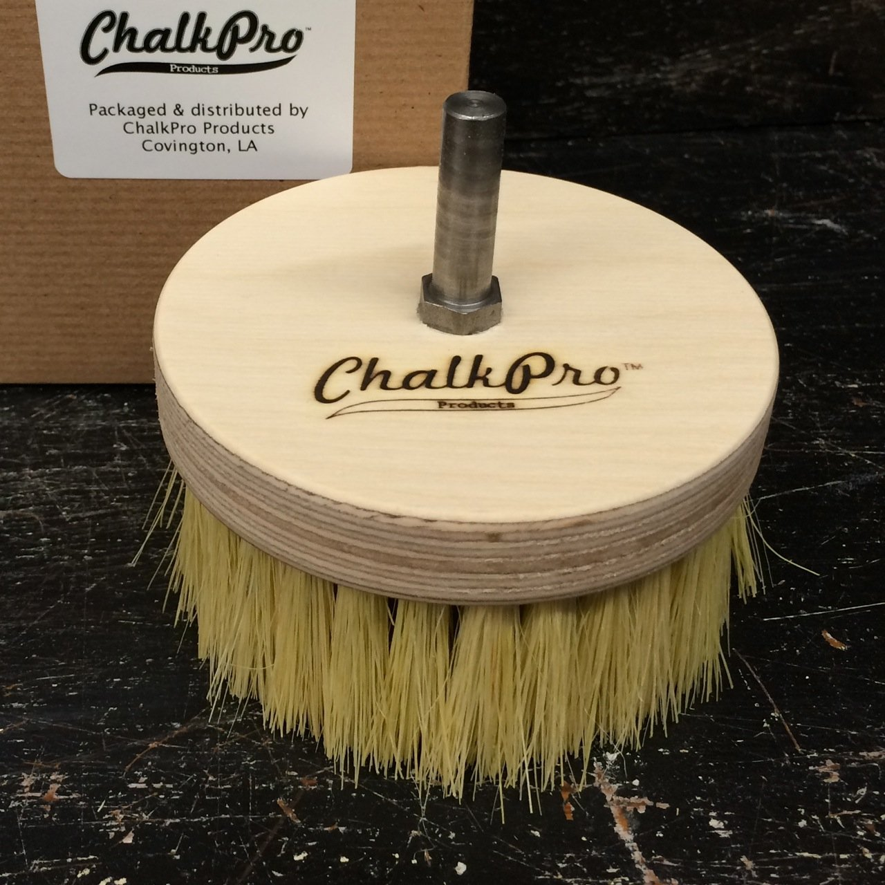 1 X Wax Buffing Brush - Drill by ChalkPro Products WBB-D