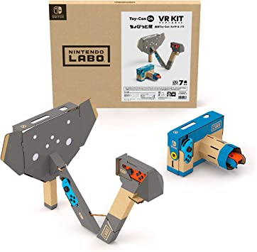 Nintendo Labo Laboratorio Toy-con 04: bit Edition Piccolo VR Kit Aggiungi giocattolo-con fotocamera & Elefante -Switch: Amazon.es: Juguetes y juegos