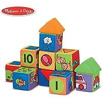 Melissa & Doug–Match & Build bloques de los niños