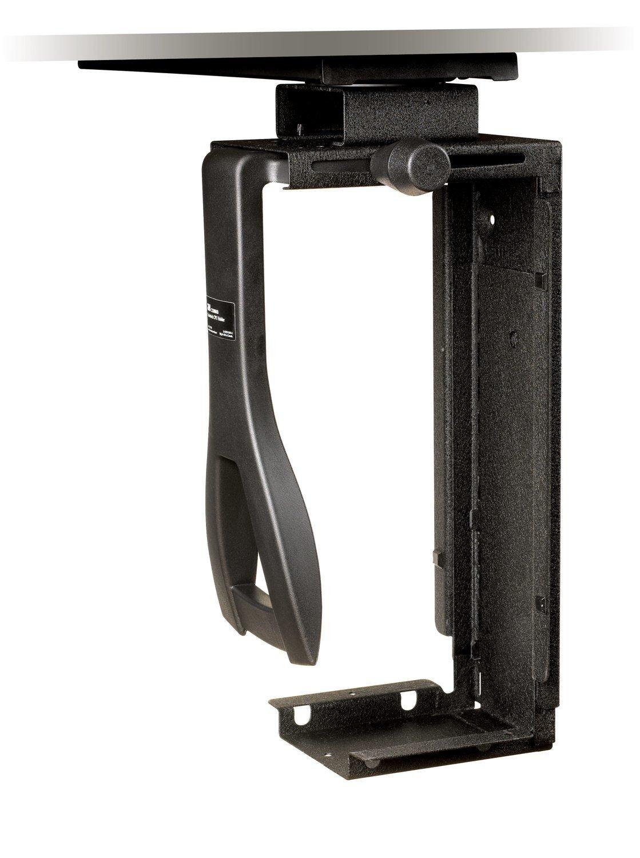3M Under-Desk CPU Holder CS200MB - Mounting kit - Under-Desk mountable - Black - 1.7 ft
