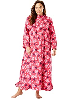 National Floral Flannel Nightgown At Amazon Womens Clothing Store