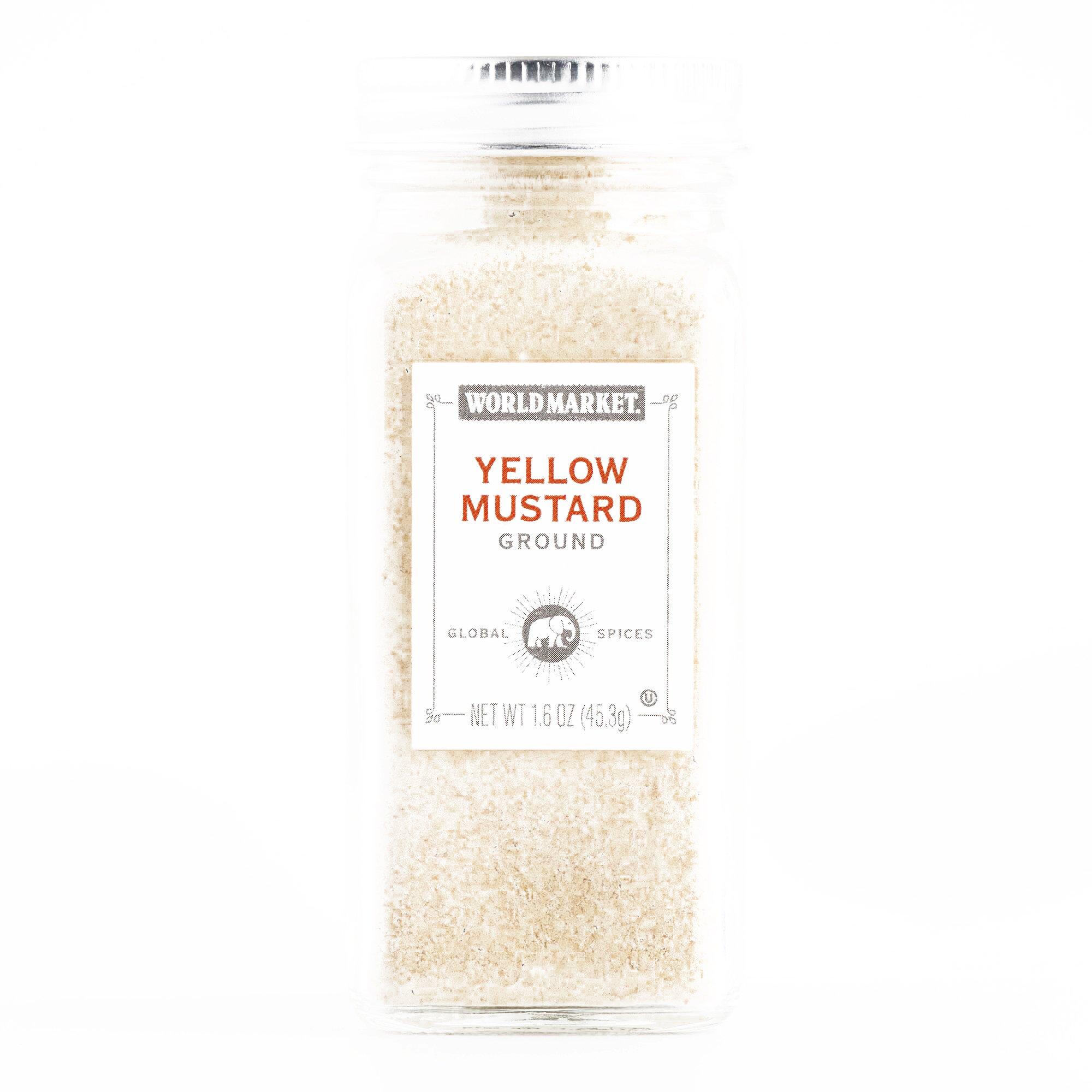 Ground Mustard 1.6 oz each (5 Items Per Order, not per case)