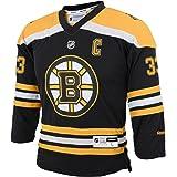 NHL Boys 4-7 Bruins Home Replica Jersey