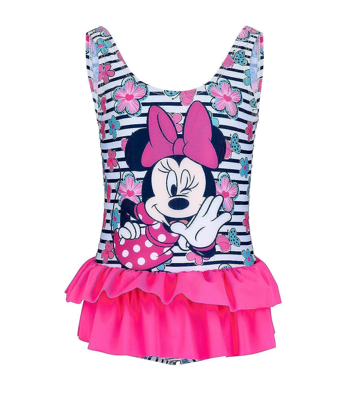Disney Minnie Mädchen Badeanzug - pink MBF-WS-173568-PI-2Y