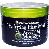 Masque hydratant cheveux enrichie en huile d'argan du Maroc–Traitement pour cheveux de