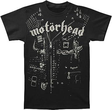 Motorhead - Chaqueta de cuero para hombre camiseta unisex negra - XL: Amazon.es: Ropa y accesorios