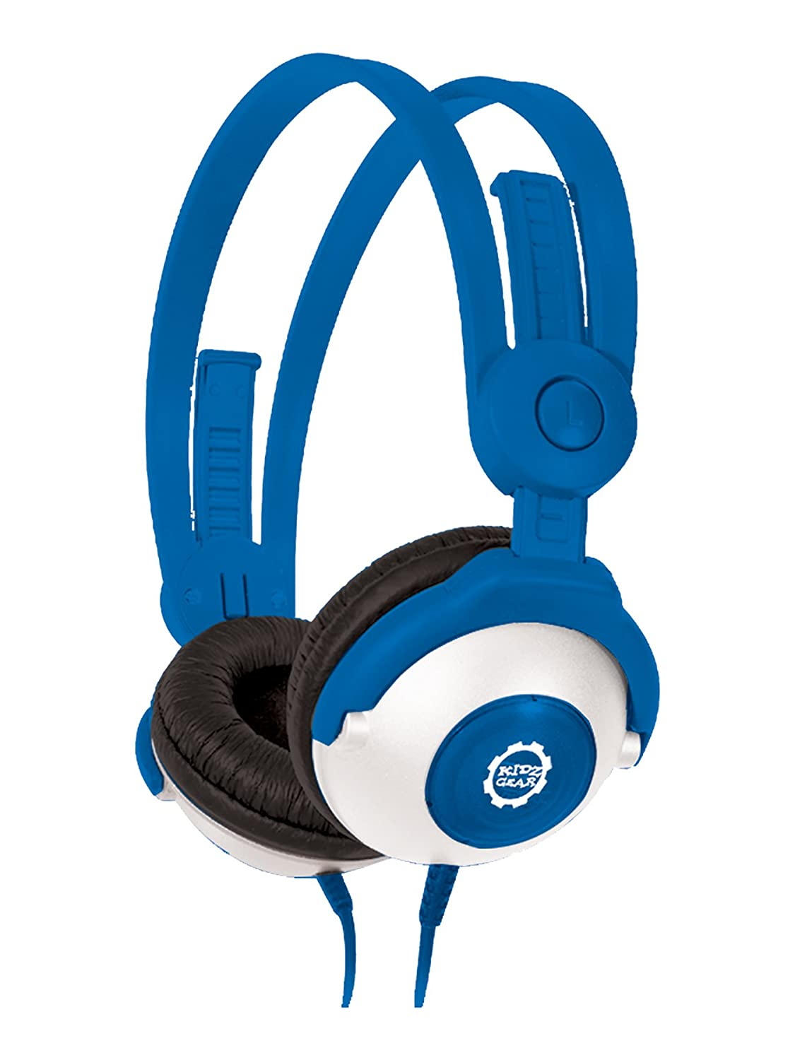 Amazon.com: Kidz Gear CH68KG04 Wired Headphones For Kids – Blue ...