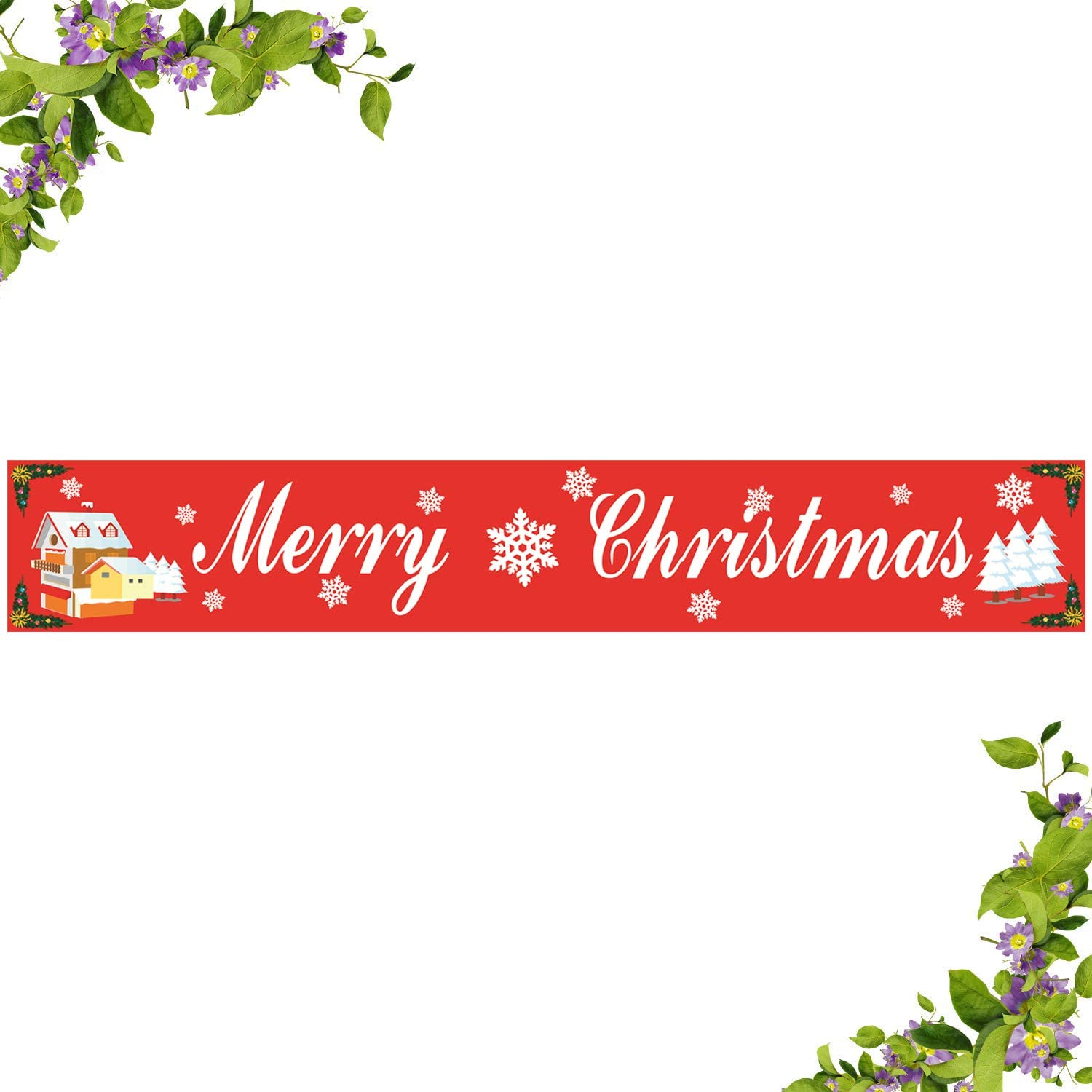 amazon com large merry christmas banner be merry flag happy new year party outdoor decoration supplies 8 2 x 1 3 feet toys games large merry christmas banner be merry flag happy new year party outdoor decoration supplies 8 2 x 1 3 feet