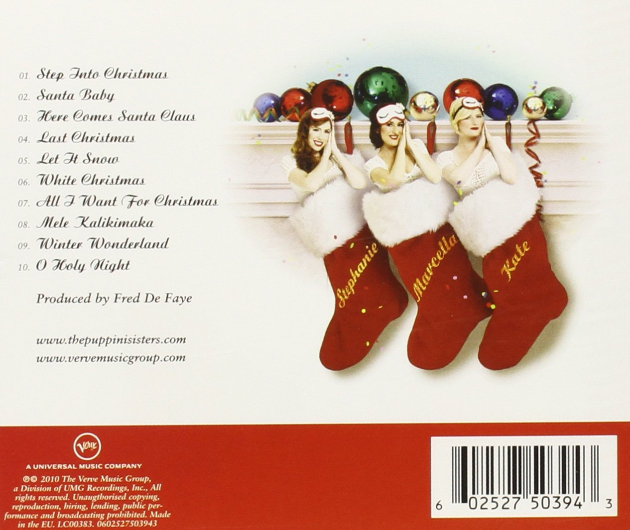 The Puppini Sisters - Christmas With The Puppini Sisters - Amazon ...