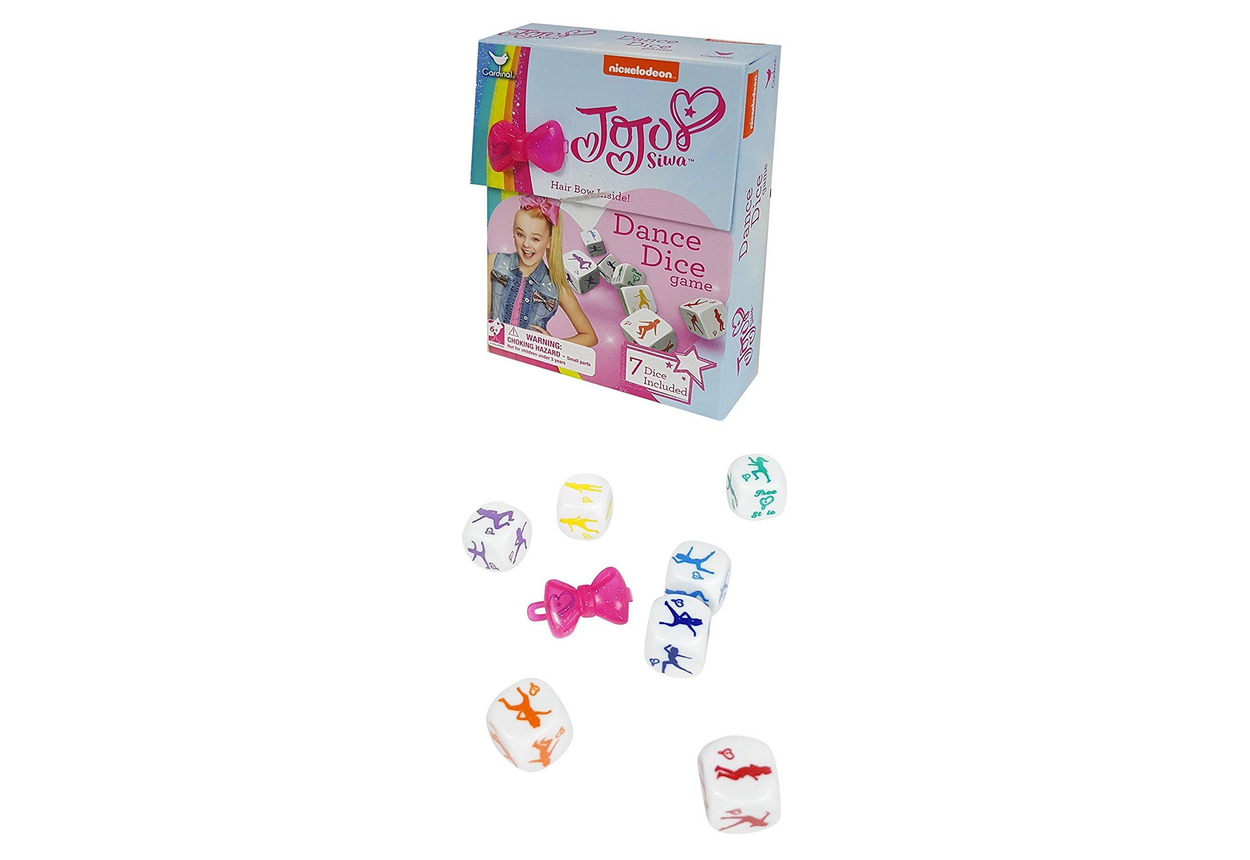 JoJo Siwa Dance Dice Game & Mystery surprise mini bow