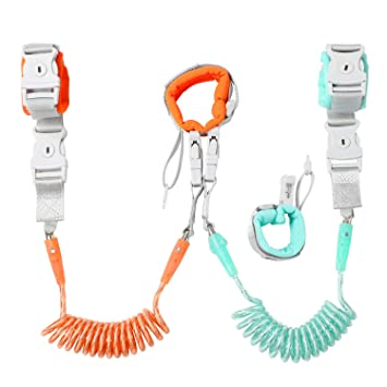 Anti Lost Wrist Link Toddler Hand Strap Harness Leash For Safety Up To 2 Meters