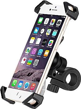 Icefox Fahrrad Handyhalterung Universal Anti Shake Handyhalterung Fahrrad Smartphone Fahrradhalterung Mit 360 Drehen Für 3 5 6 5 Zoll Smartphone Gps Andere Geräte Navigation