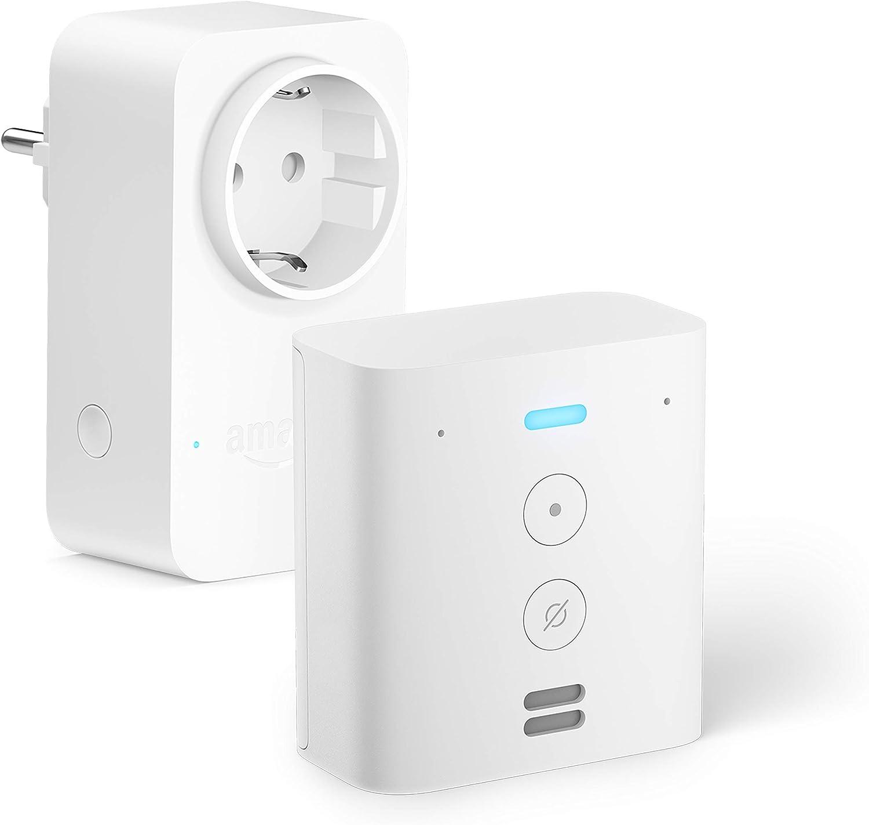 Echo Flex +Amazon Smart Plug (enchufe inteligente wifi), compatible con Alexa