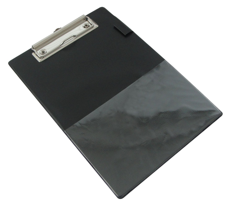 Rapesco A5/Standard Portablocco con tasca pellicola per bagagli nero/ /Confezione da 10