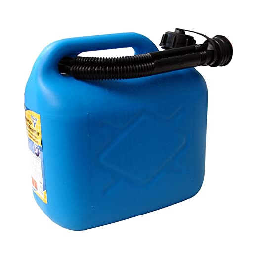 5 opinioni per Tanica carburante 5 litri, PVC blu,omologazione ONU