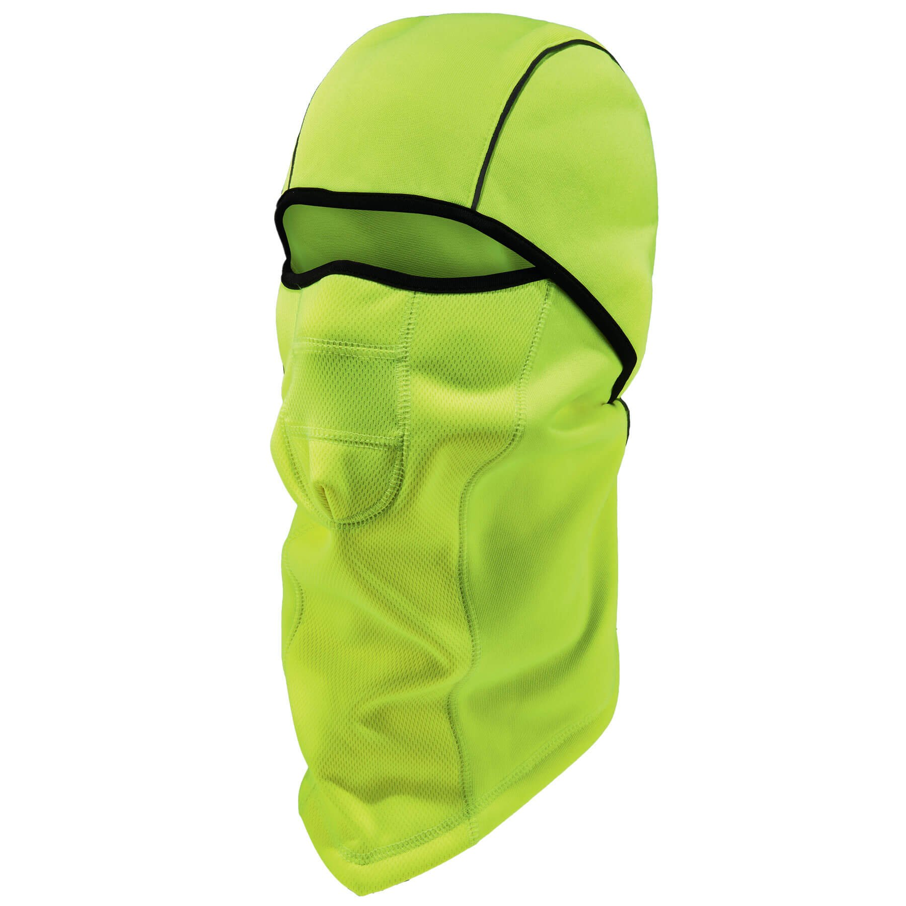 Ergodyne N-Ferno 6823 Thermal Fleece Wind-Resistant Hinged Balaclava, One Size, Lime
