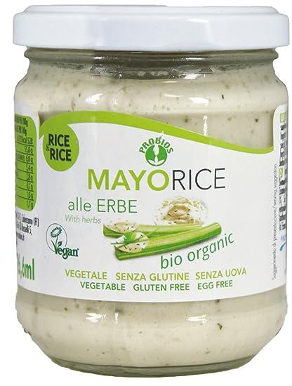 Rice and Rice, Mayonesa (Hierbas finas) - 6 de 165 gr. (