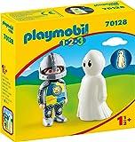 PLAYMOBIL PLAYMOBIL-70128 1.2.3 Caballero con Fantasma, Multicolor, Talla única (1)
