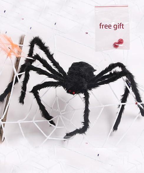 Amazon.com : Amyhomie Giant Spider, 50 In Halloween Spiders, Best ...
