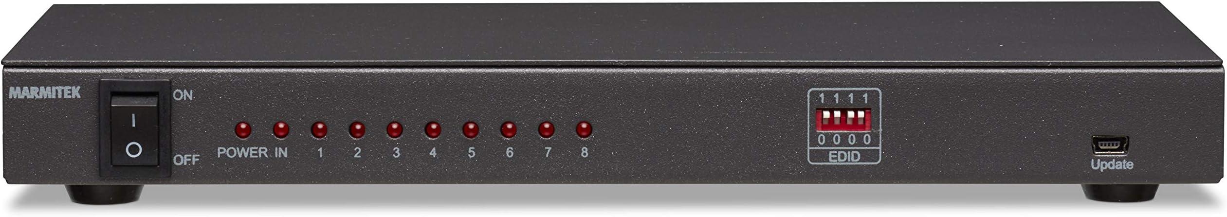 Split 418 UHD - Splitter HDMI | 1 Entrada/8 Salidas | 3D | UHD |: Amazon.es: Electrónica