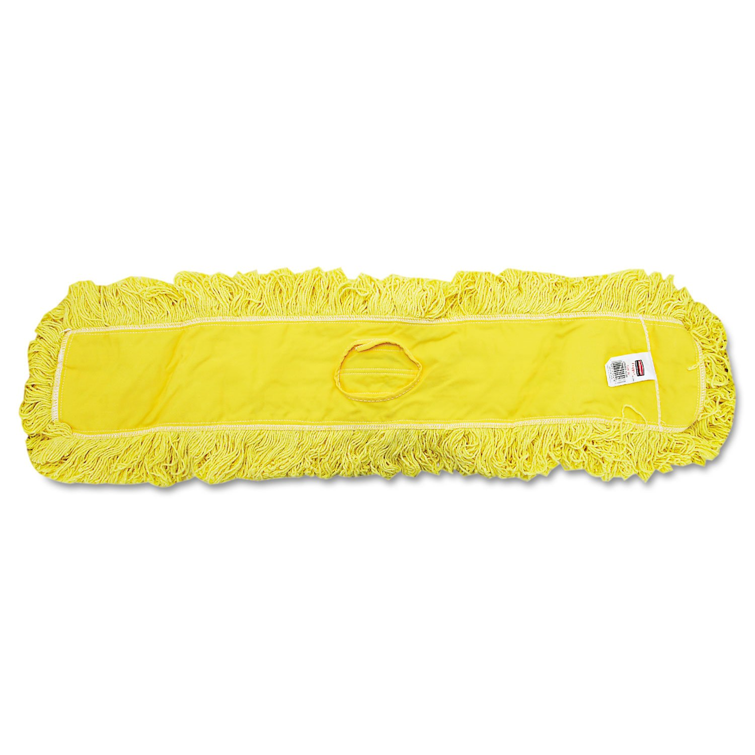 Rubbermaid Commercial Trapper Commercial Dust Mop, Looped-end, 5'' x 36'', Yellow, 12/Carton