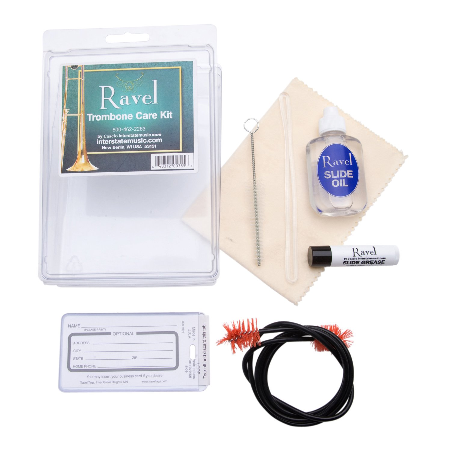 Ravel OP344 - Trombone Care Kit Ventura 355