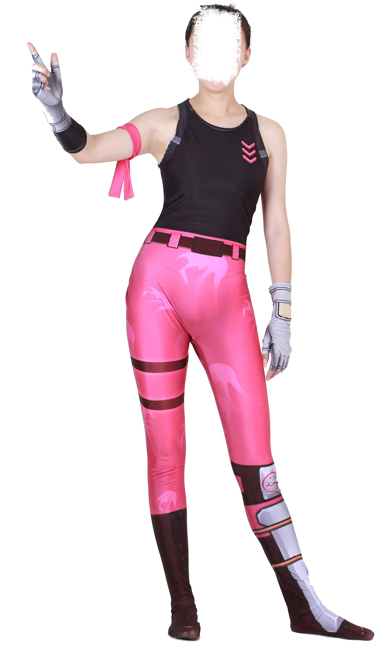 - 71Px0Z 3ogL - Riekinc Rose Team Leader Women Game Costume Halloween Cosplay