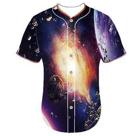 3d impresión camiseta ropa cuello redondo para hombre equipo de ...