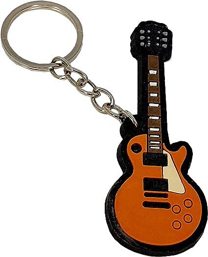 LLAVERO GOMA GUITARRA GIBSON LES PAUL RBK-0153 REGALO MUSICAL ...