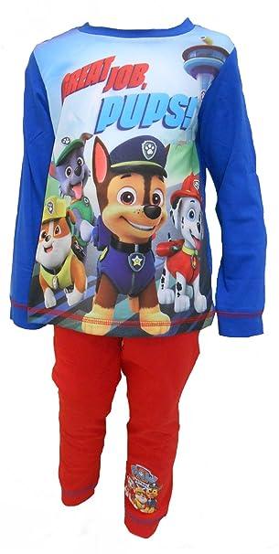 Paw Patrol – Pijama de la gran trabajo Pups Boy multicolor 18-24 Meses