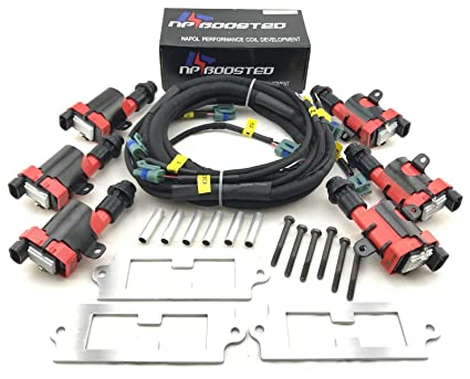 Ignition Coils Conversion cket Wire Harness Kit for Supra ... on