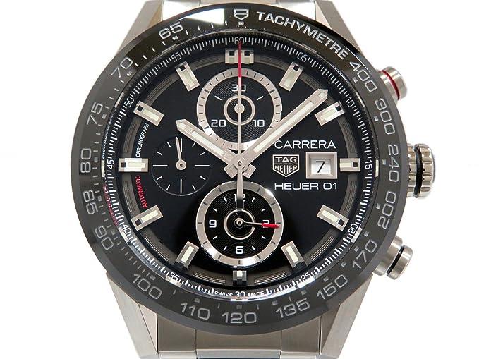 uk availability 15354 5cf75 Amazon | タグ・ホイヤー メンズ腕時計 カレラ CAR201Z.BA0714 ...