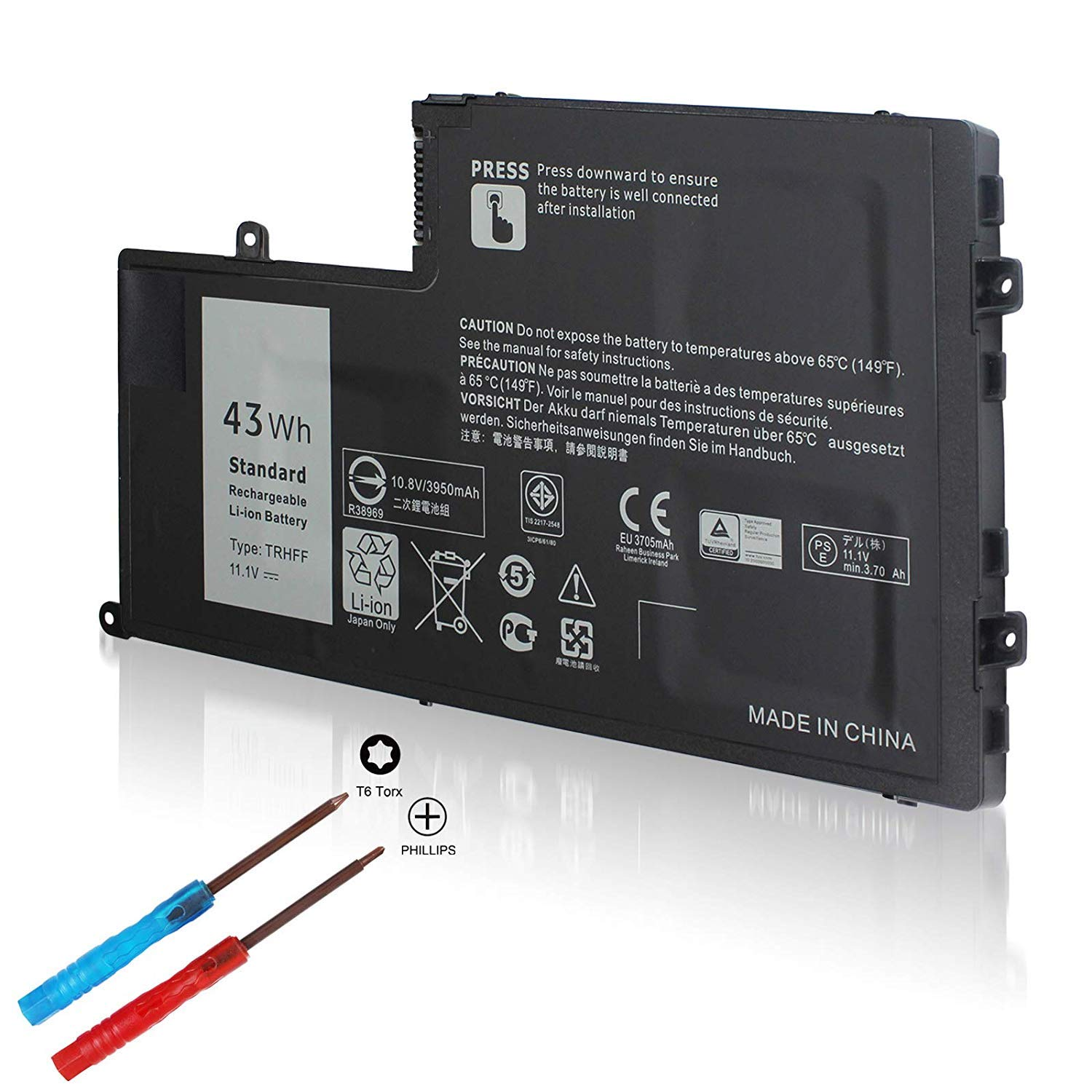 Bateria 43WH TRHFF P39F Dell Inspiron 15 5000 Series 5547 55