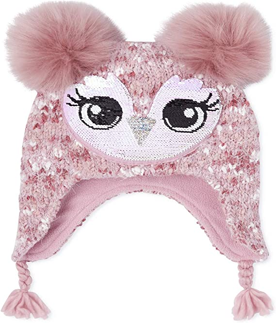 The Children's Place Girls' Big Critter Hat