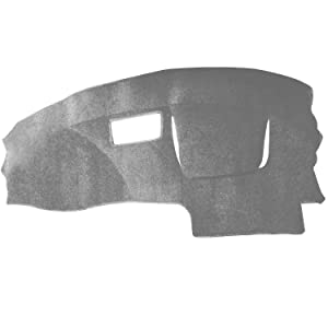 Hex Autoparts Dash Cover Mat Dashboard Pad for Chevy Cavalier 1995-2005 (Gray)