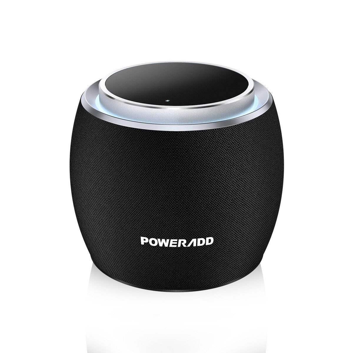 Poweradd Gee-G mini, Super-Portable Bluetooth Speaker with LED Touch Control,5W Speakers,33-Foot Bluetooth Range, 8 Hours Playtime, Enhanced Bass, Built-in Mic for iPhone,for iPad, Samsung, HTC,ect