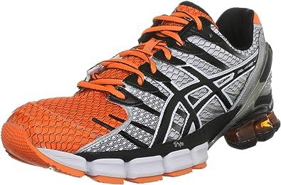 Asicsgel Kinsei 4 - Zapatillas de Deporte Hombre, Naranja (Orange - Neon Orange/Black/White), 47: Amazon.es: Zapatos y complementos