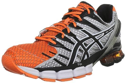 buy online fb8af 63b06 ASICS Men s Gel Kinsei 4 Trainer, Neon Orange Black White, 15 UK   Amazon.co.uk  Shoes   Bags