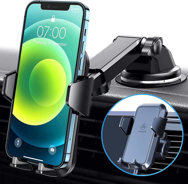 Vanmass Handyhalterung Auto 3 In 1 Lüftung Saugnapf Elektronik