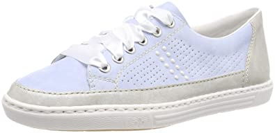 Womens L59c8 Trainers, Blue Rieker