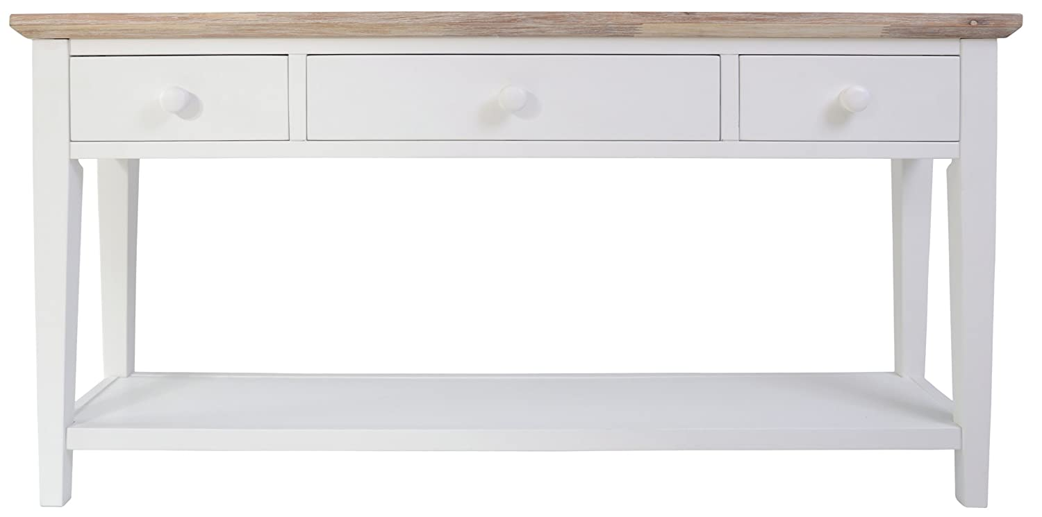 Florence console table white amazon kitchen home geotapseo Image collections