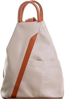 7779e21c1123 Primo Sacchi® Italian Soft Napa Leather Top Handle Shoulder Bag Rucksack  Backpack. Includes Branded