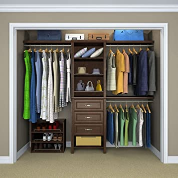 ClosetMaid Selectives 83 In. H X 120 In. W X 14.57 In. D