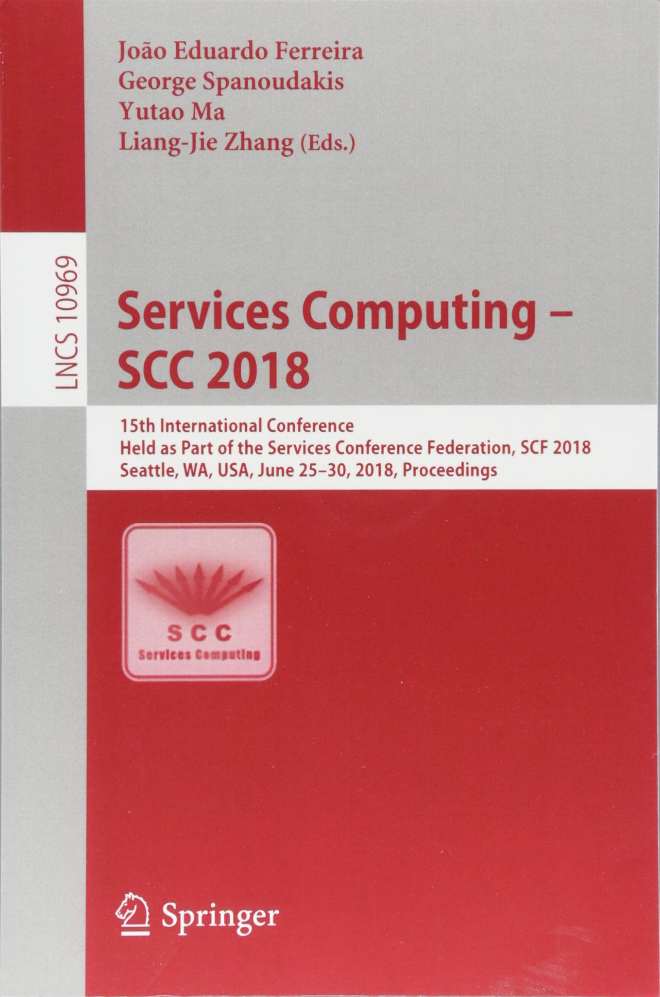 Download Services Computing – SCC 2018: 15th International Conference, Held as Part of the Services Conference Federation, SCF 2018, Seattle, WA, USA, June ... (Lecture Notes in Computer Science) pdf